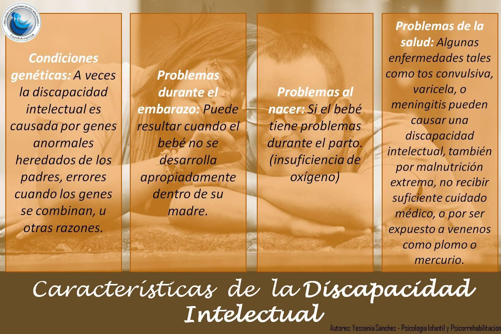 DISCAPACIDAD INTELECTUAL Y PROBLEMAS DE APRENDIZAJE
