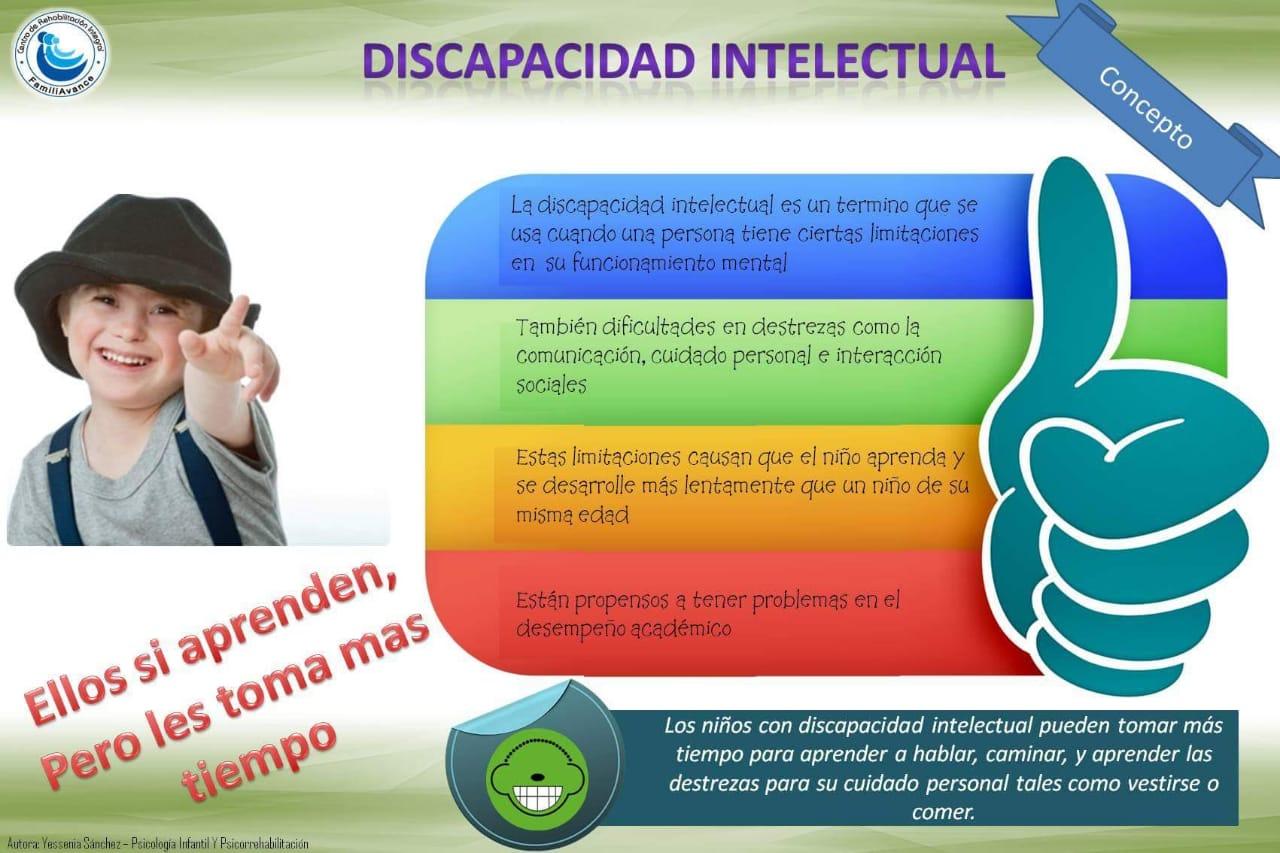 DISCAPACIDAD INTELECTUAL Y PROBLEMAS DEL APRENDIZAJE